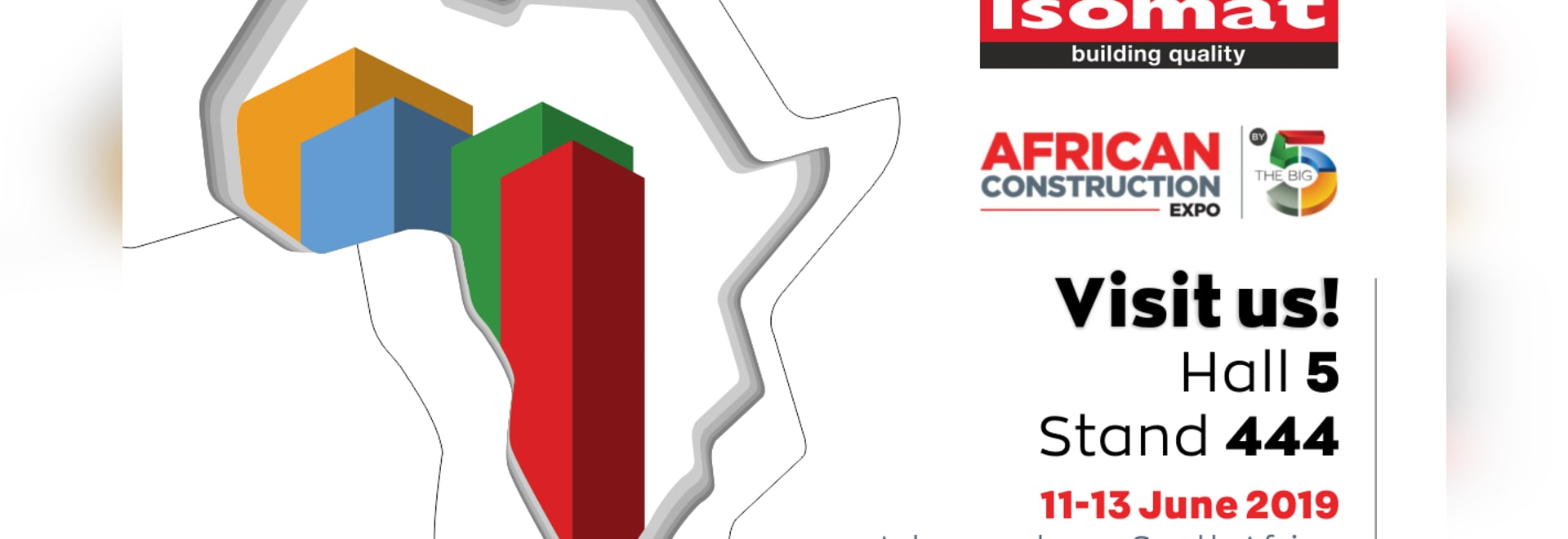 ISOMAT at the African Construction Expo 2019