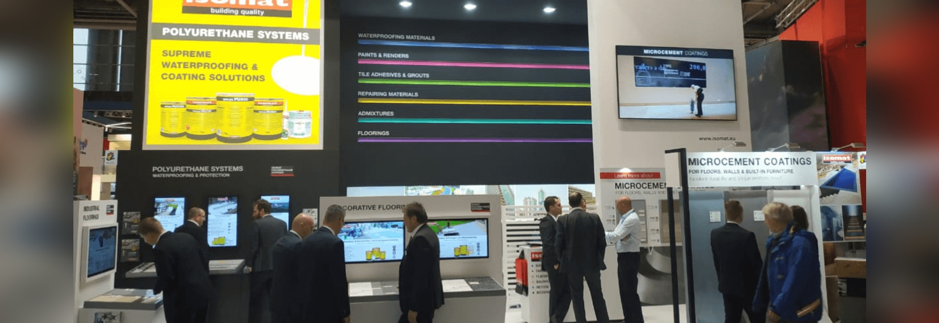 ISOMAT successfully participated in the BAU 2019 international exhibition