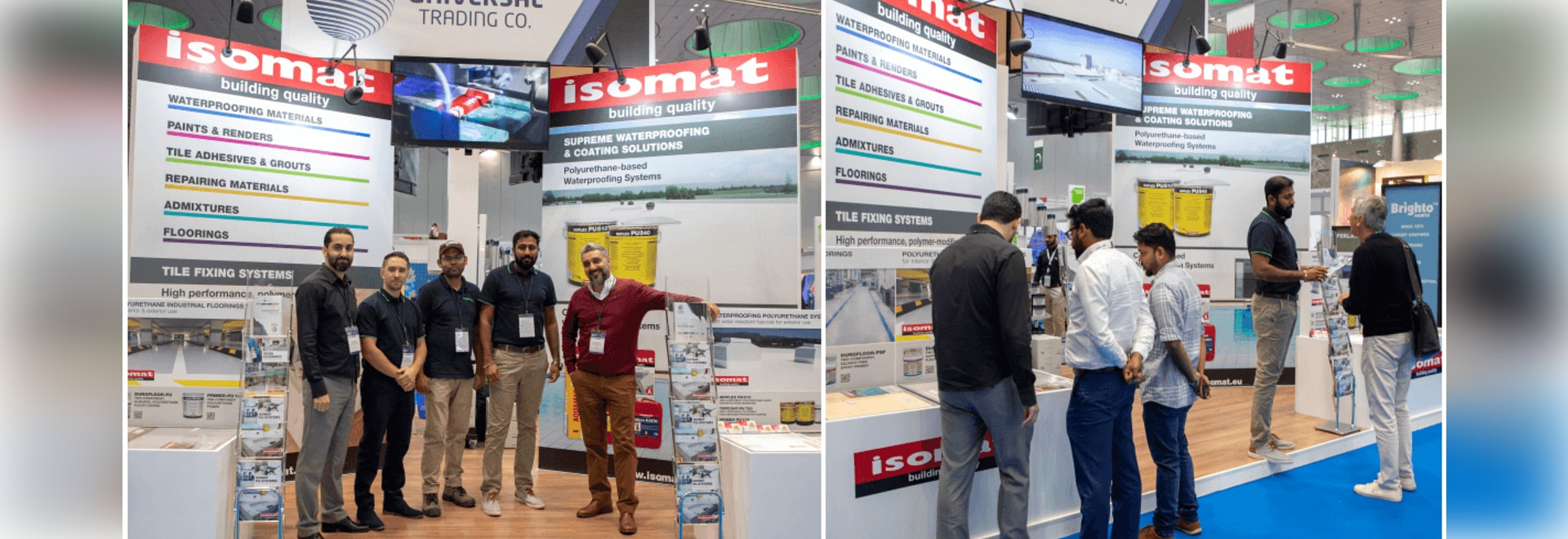 "ISOMAT successfully participated in the ""Project Qatar 2019"" international exhibition"