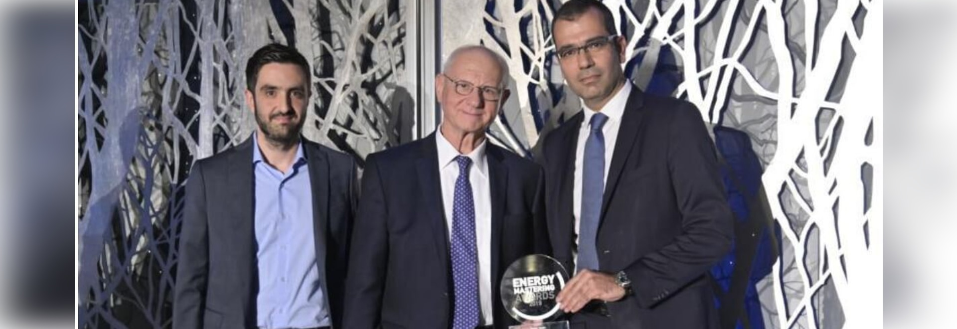 ISOMAT was awarded for the significant energy efficiency of its facilities at the Energy Mastering Awards 2019
