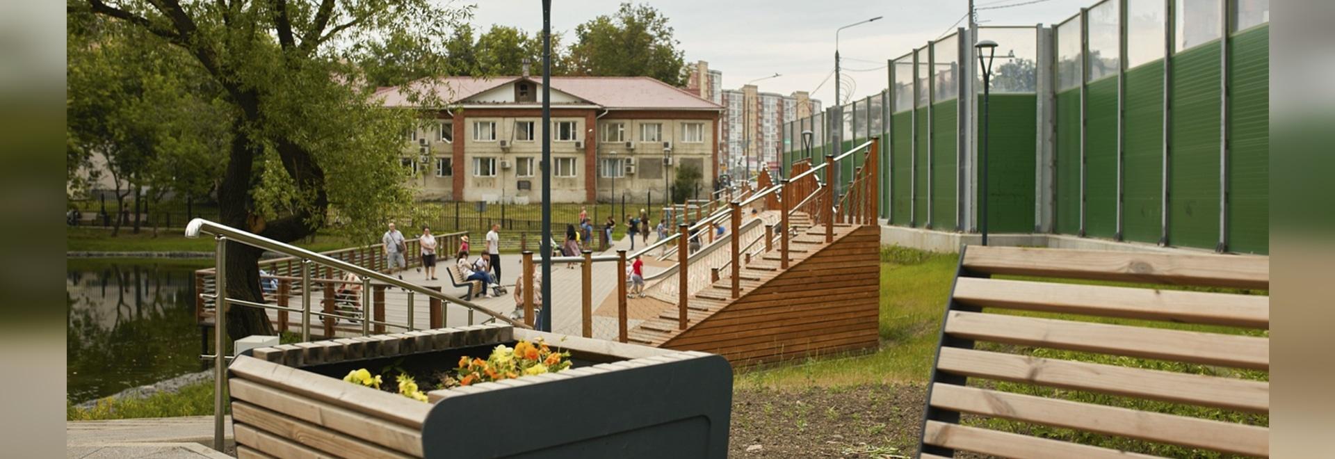 Kontorsky Pond renewal project