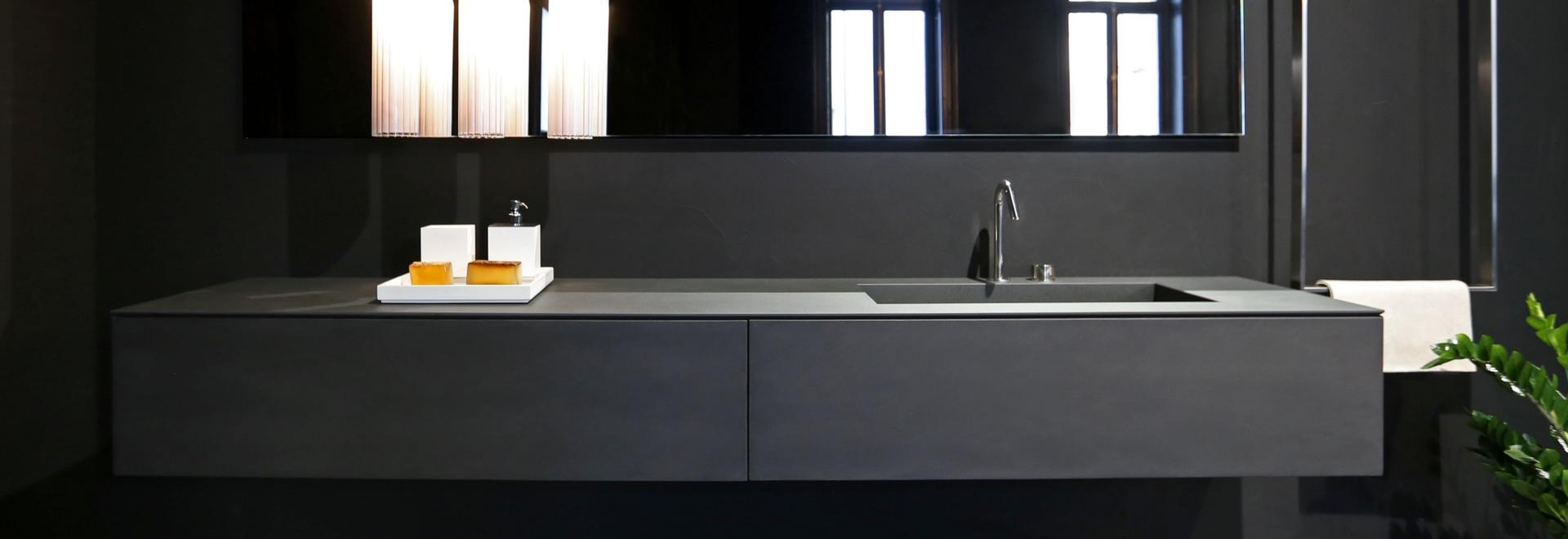 LAMINAM for the bathroom – Design: RIFRA