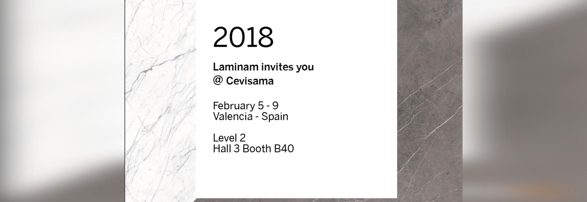 Laminam takes part to Cevisama