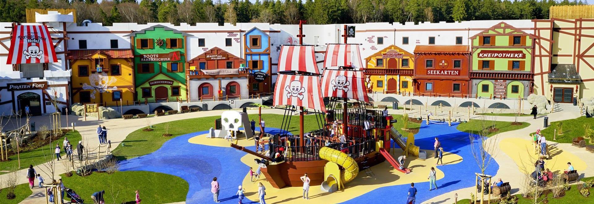 Lappset Creative Designed and Delivered A Pirate Ship Playground to LEGOLAND Deutschland Resort in Günzburg, Bavaria
