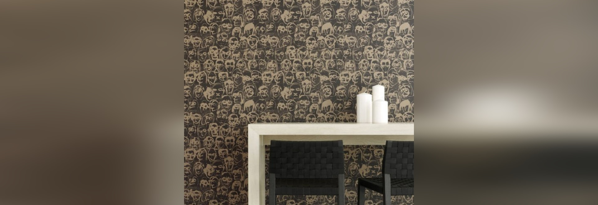 Les amis: the new wallpaper for the collection 'Divertimento'