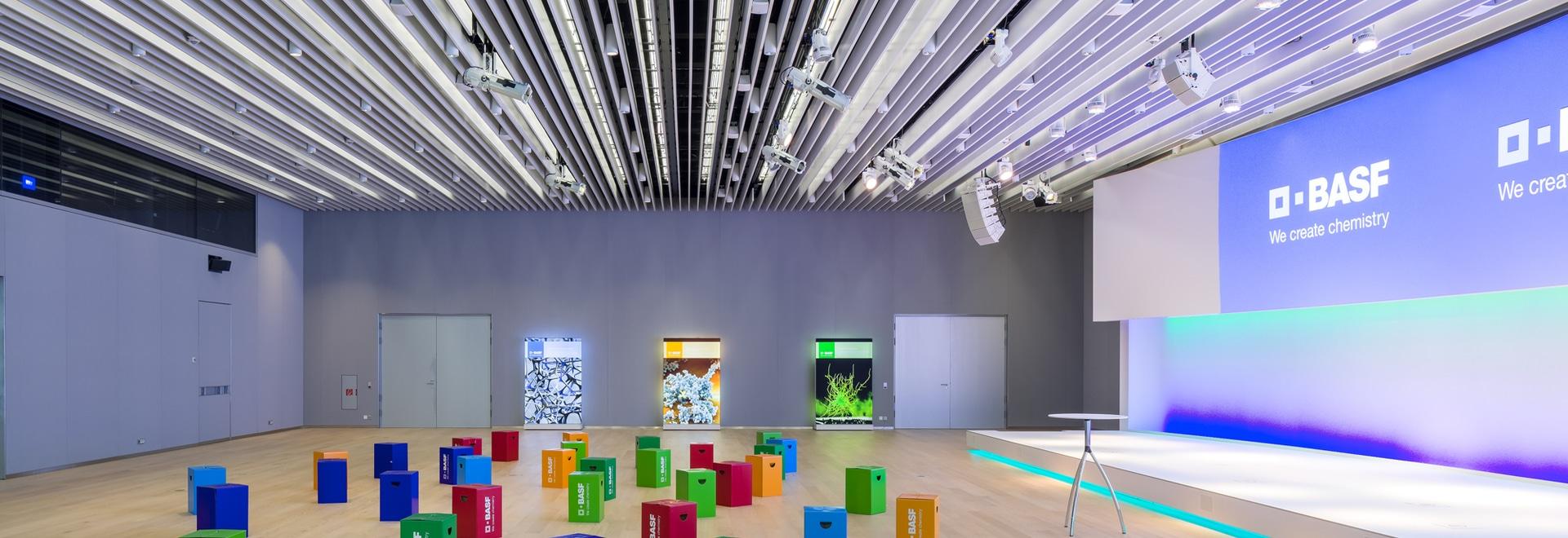 Lindner baffle ceilings