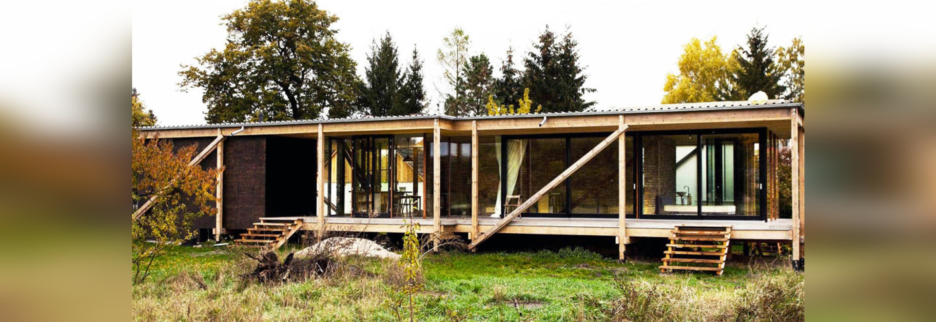 Low-cost, low-impact Neiling II house was built out of reclaimed wood