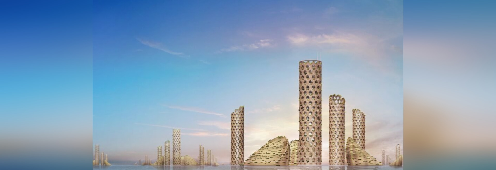 Luca Curci Architects proposes a self-sustainable Vertical City of the future