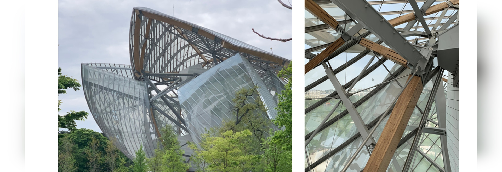 Macalloy Tension Bars used in Fondation Louis Vuiiton, Paris, France