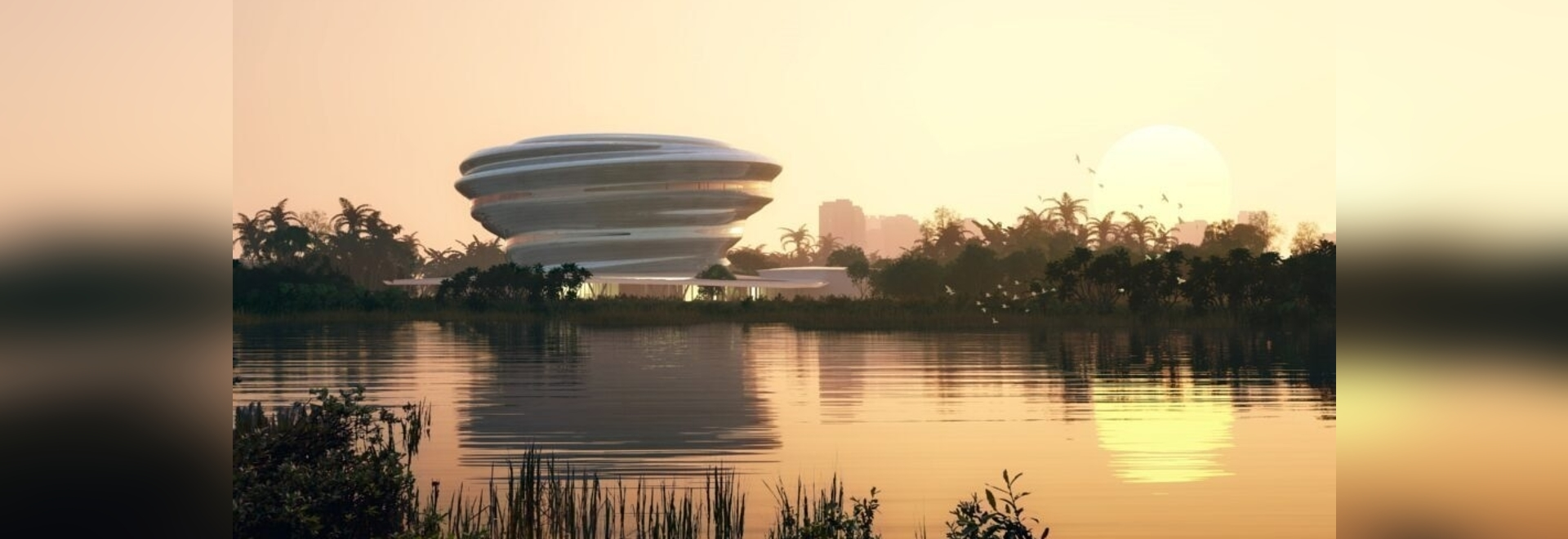 MAD shapes Hainan science and technology museum 'like a cloud in dialogue with nature'