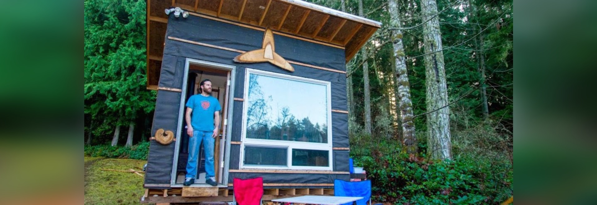 Man builds the Transforming Tiny Home for less than $500