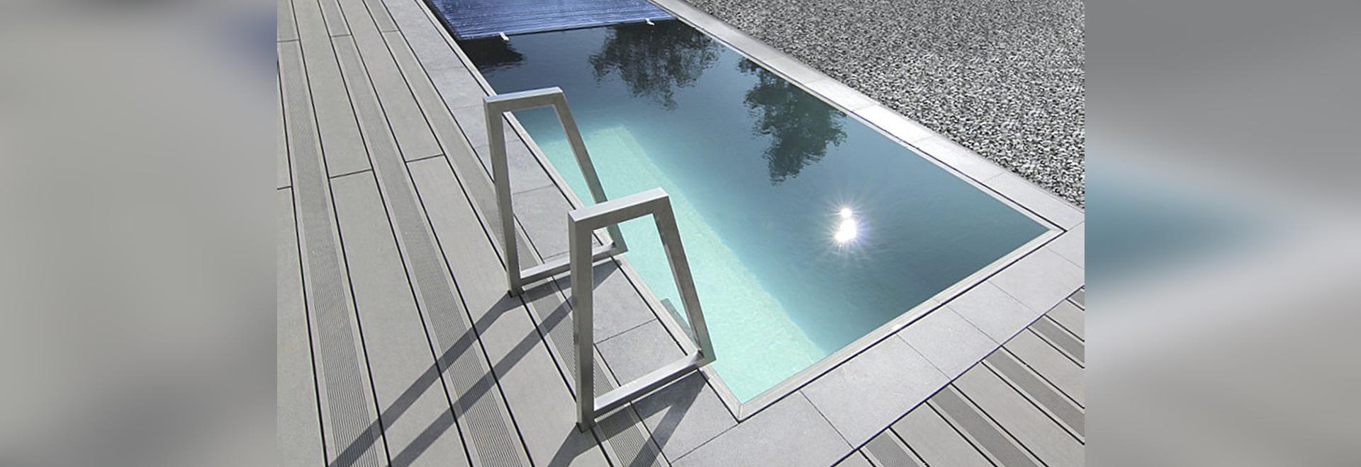 Piscine En Inox Steel And Style marine inox - overflow stainless steel pool - luxe pools