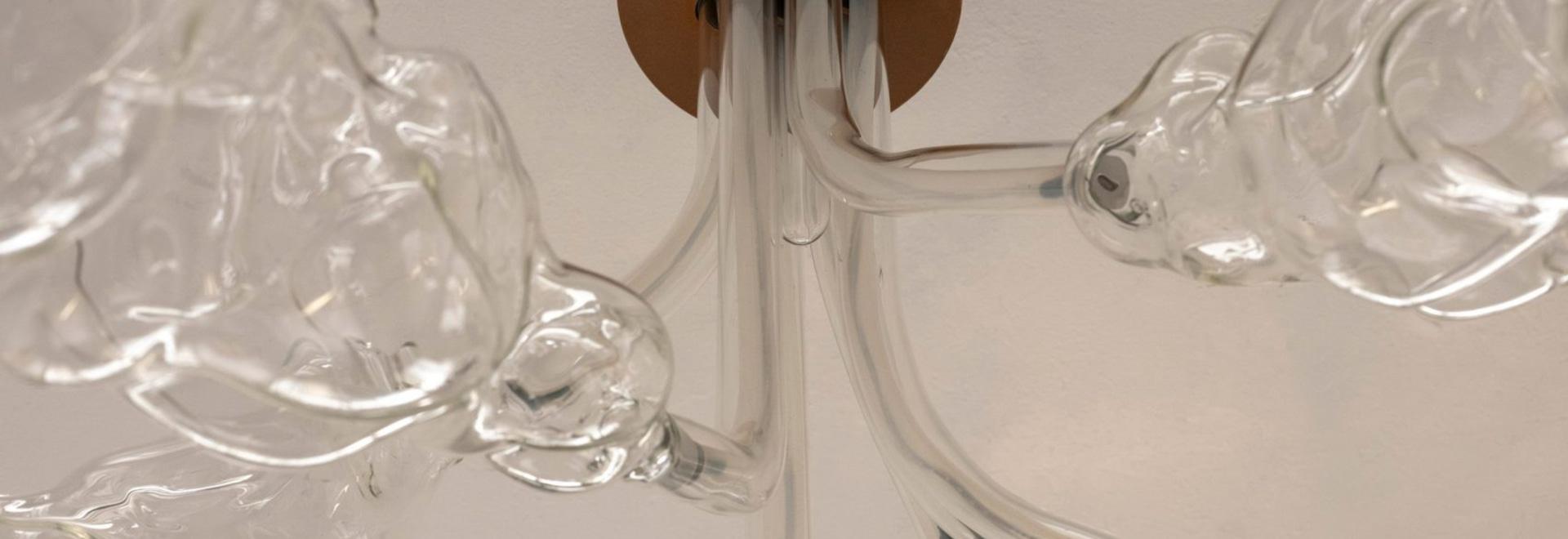 Marta Armengol's glassware resembles amorphous bubbles