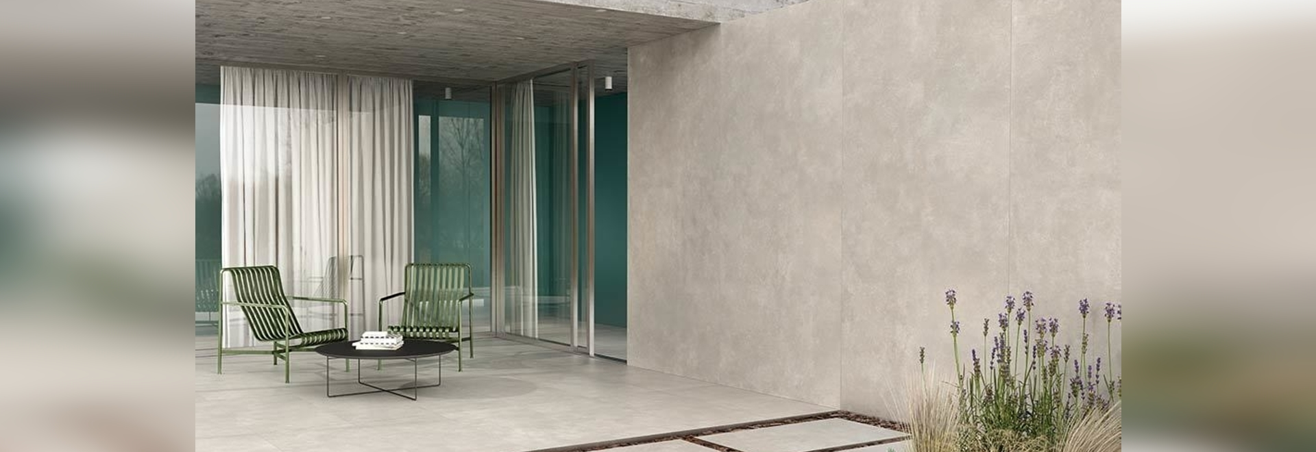 Metropolis by Casalgrande Padana: the elegance of concrete-effect porcelain stoneware