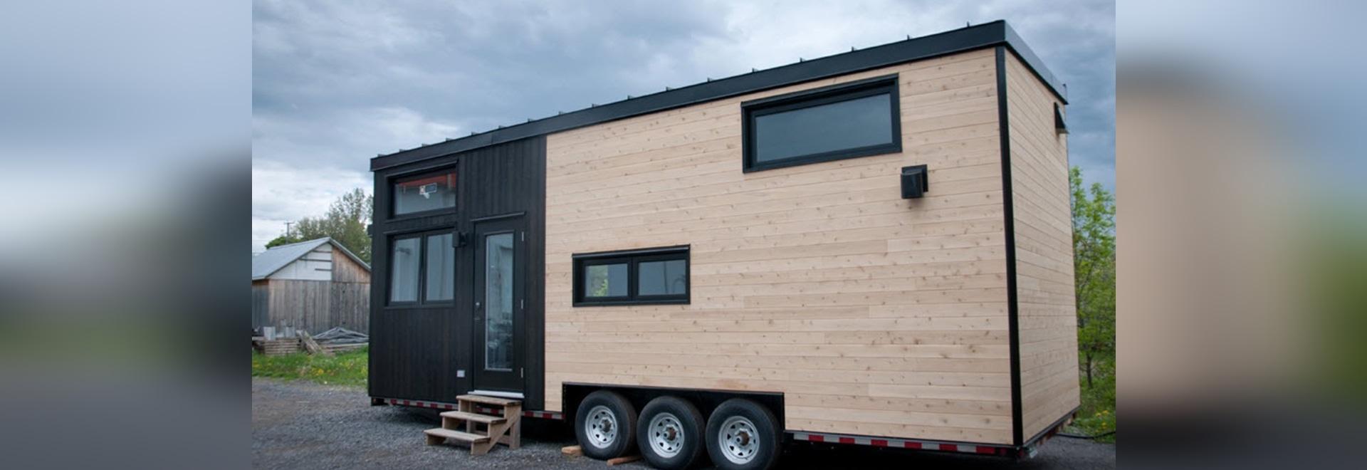 Minimaliste Builds a Tiny House Surf Shack Called Noyer