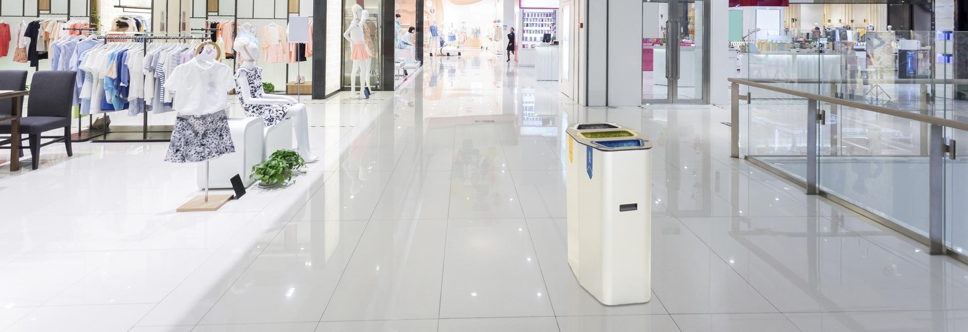 Munich recycling bin - White Edition