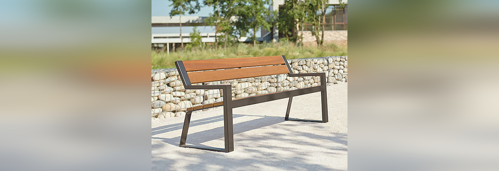New BERLIN bench and chair