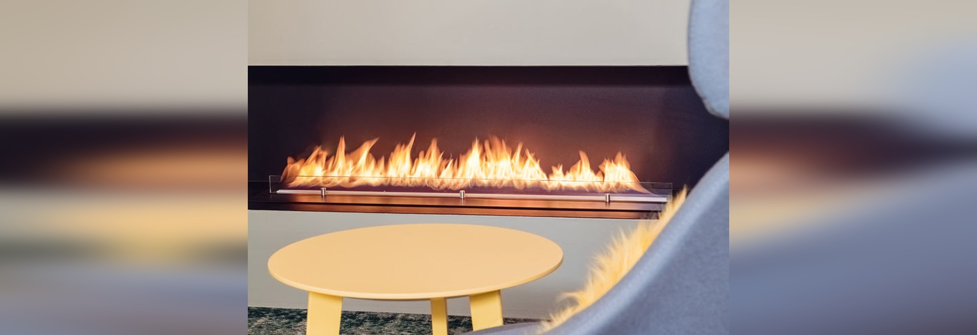 NEW: bioethanol fireplace insert by Planika Fires