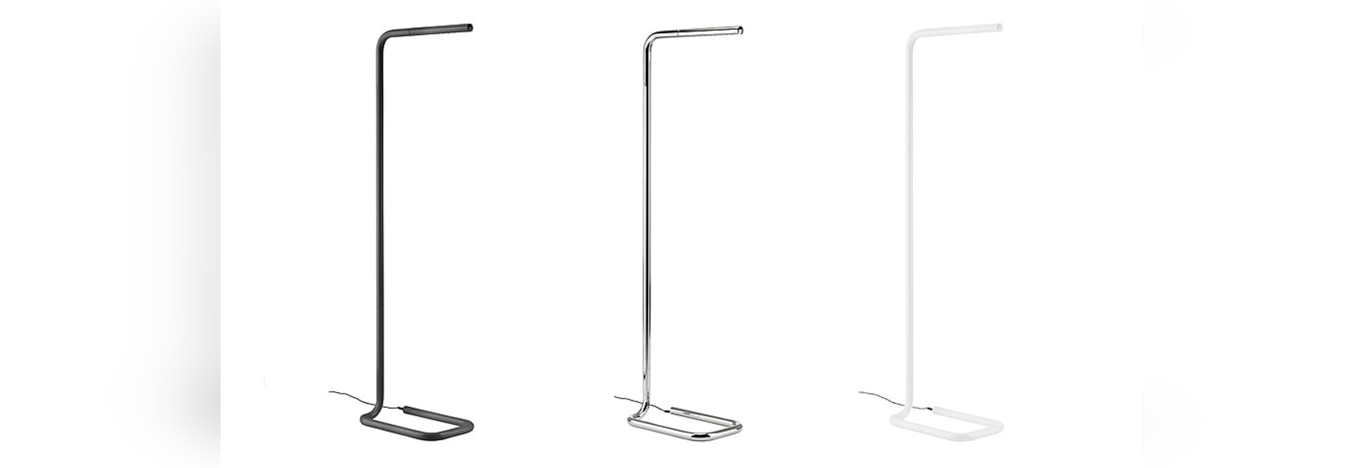 NEW IN BLACK AND WHITE: THE LUM LUMINAIRE CONVINCES WITH SIMPLE ELEGANCE