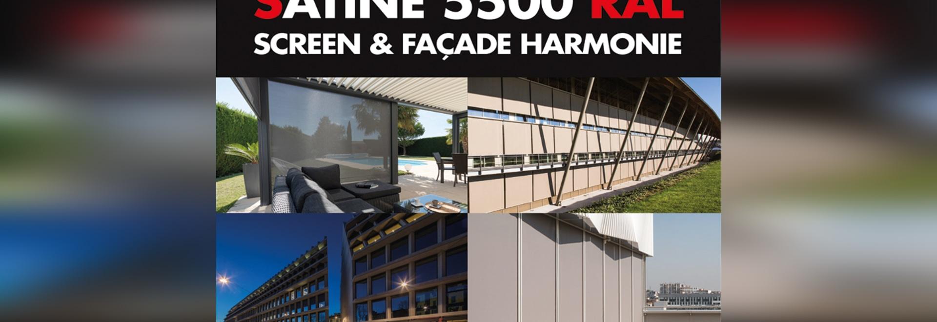 New brochure: Satiné 5500 RAL