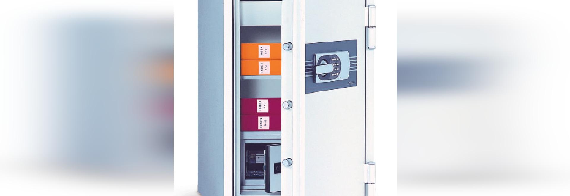 NEW: cabinet safe / fire-retardant by TECHNOMAX