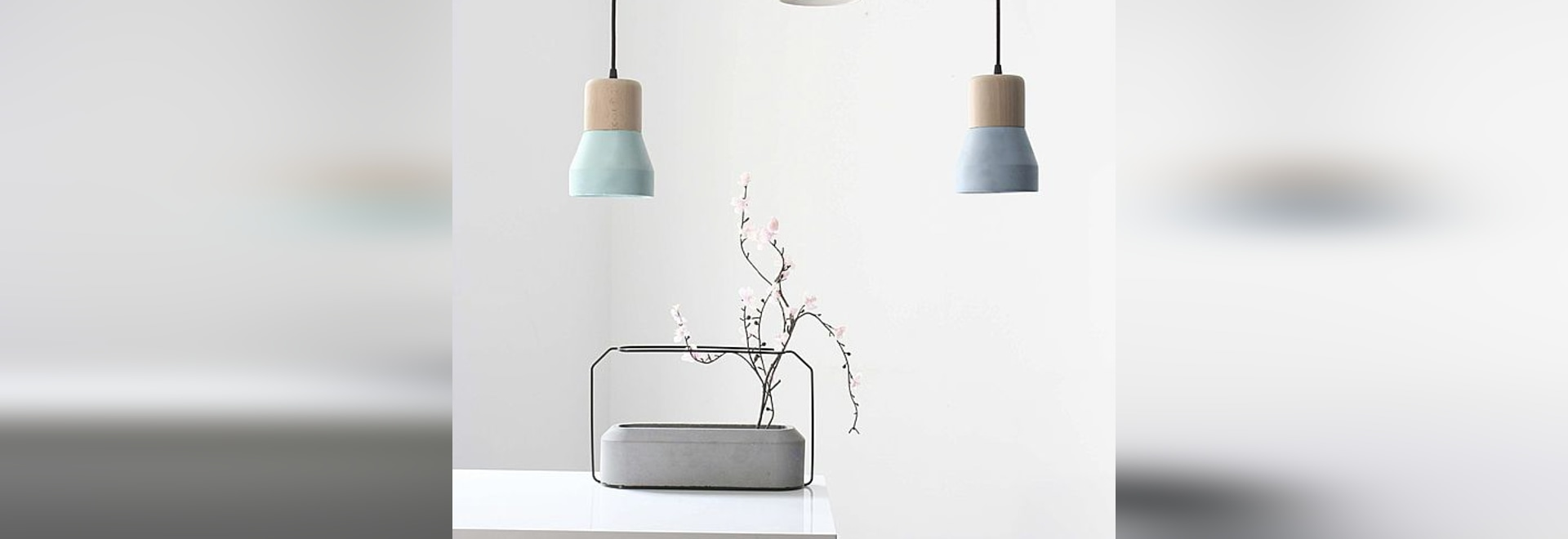 New colors for the Cement Wood Lamps