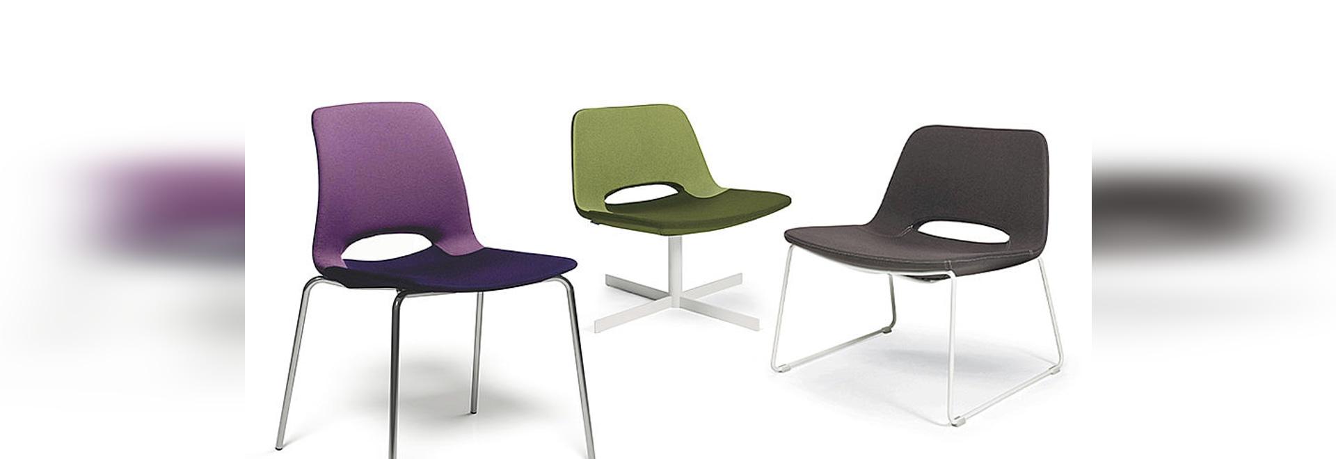 New: KATIA chair, design Alessio Pozzoli