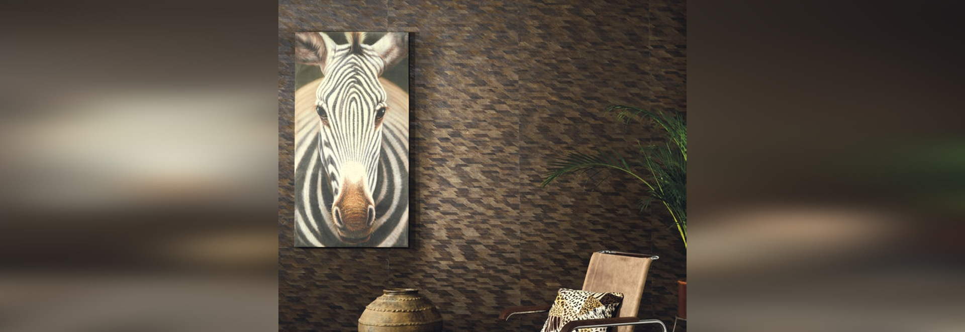 NEW: nature pattern wallpaper by Omexco