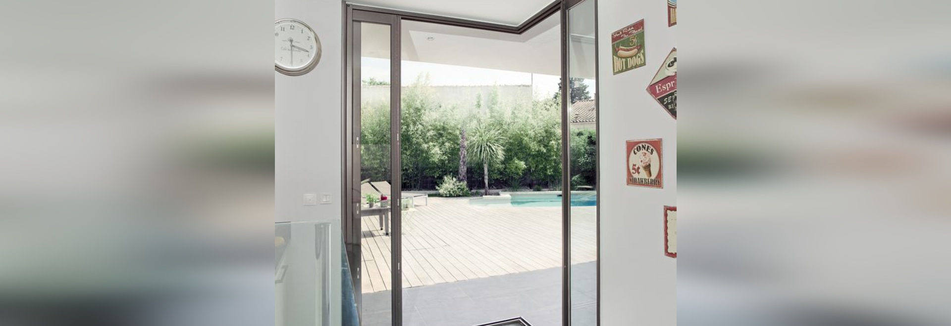 NEW: sliding patio door by PROFILS SYSTEMES