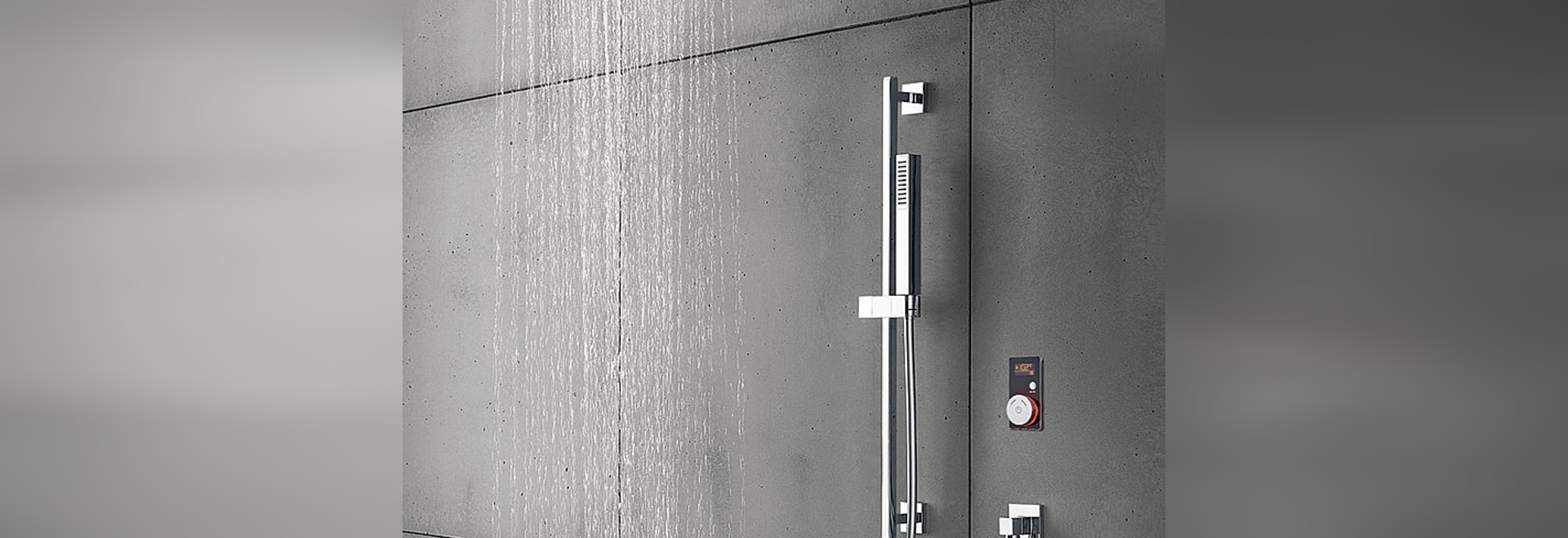 NEW Vision Wheel electronic shower control by BLU