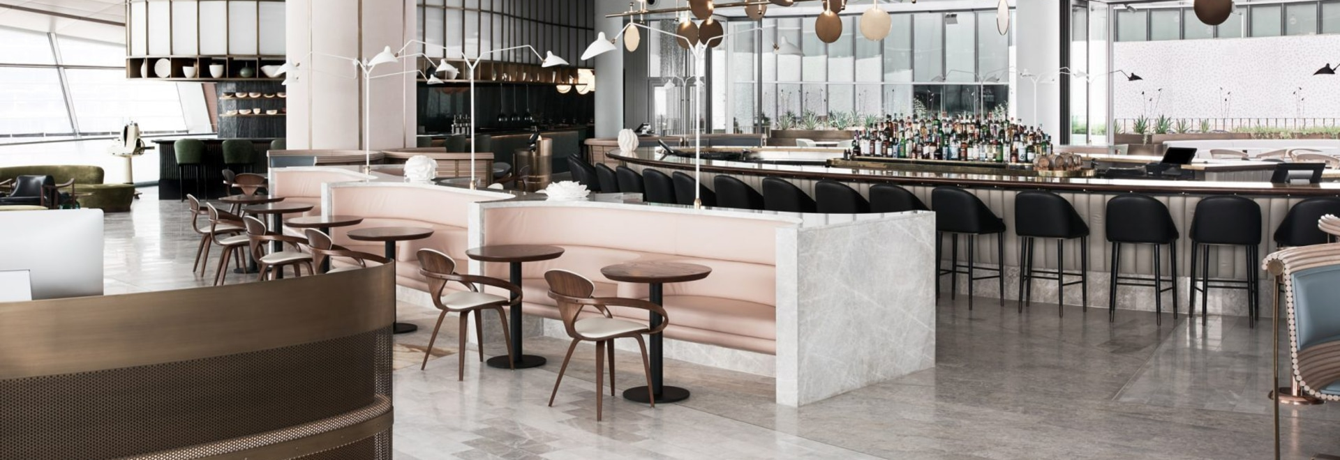 Ocean-themed restaurant by Alexander & Co and Tribe Studio opens on rooftop of Dubai Opera