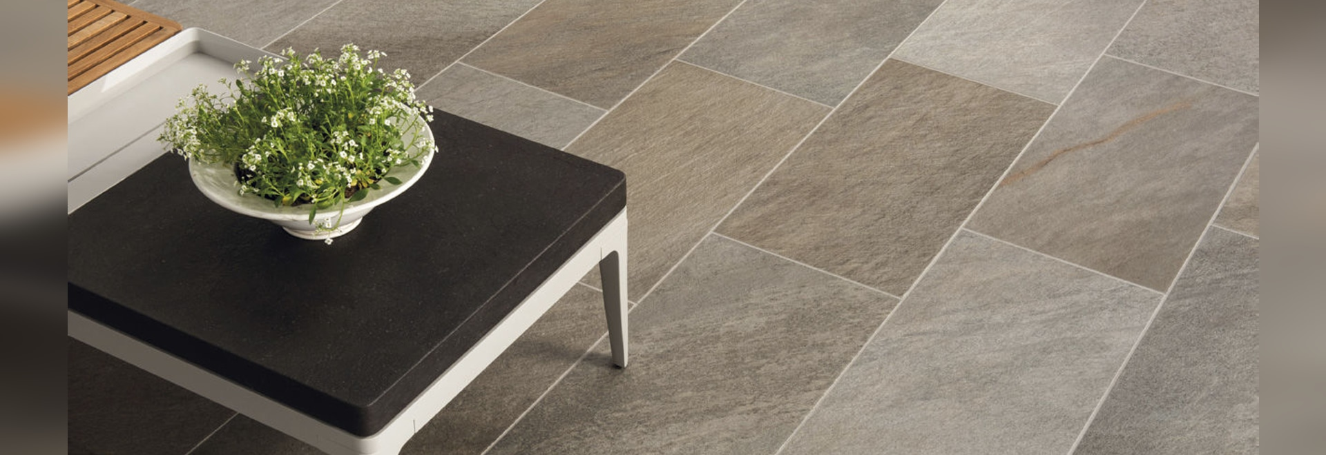 oint by Ceramiche Keope, when your lifestyle continues outdoors