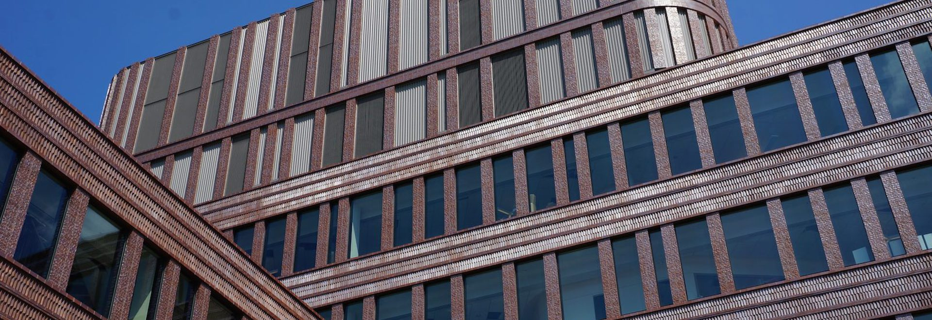 Ornate brickwork forms a sinuous façade to the new Bruce C. Bolling Municipal Building.(All photos courtesy Mecanoo unless otherwise stated)
