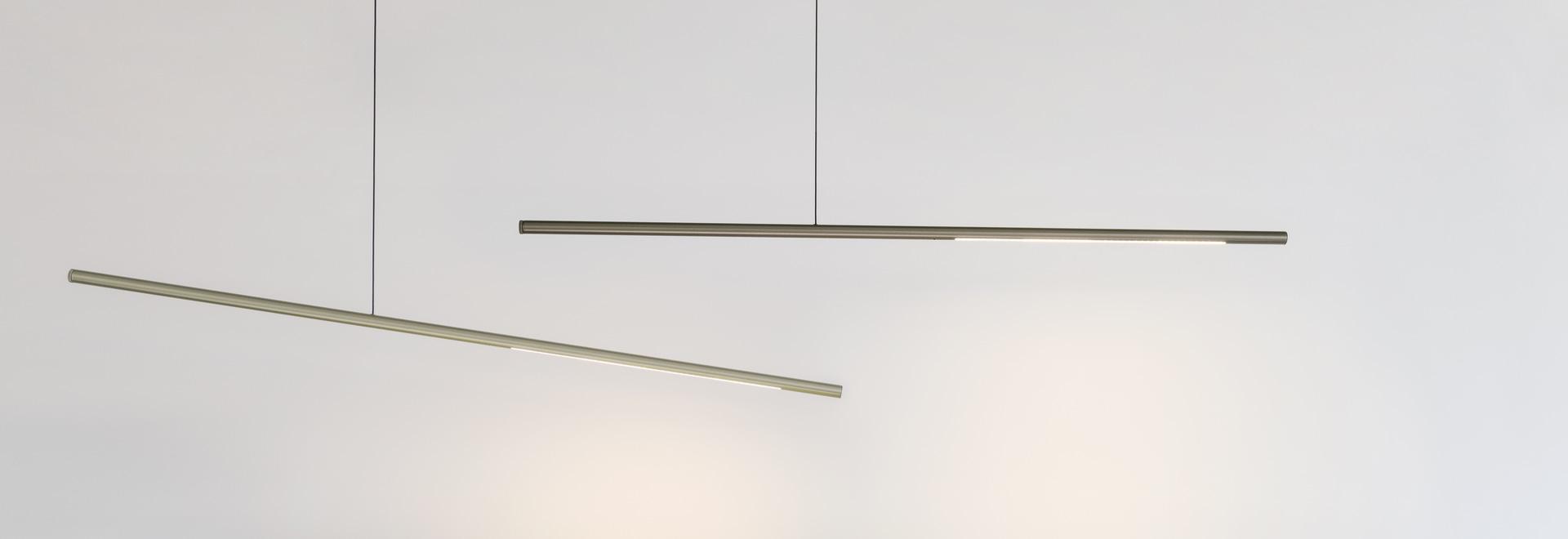 PALITO - new linear LED luminaire creation of SATTLER - pendant light