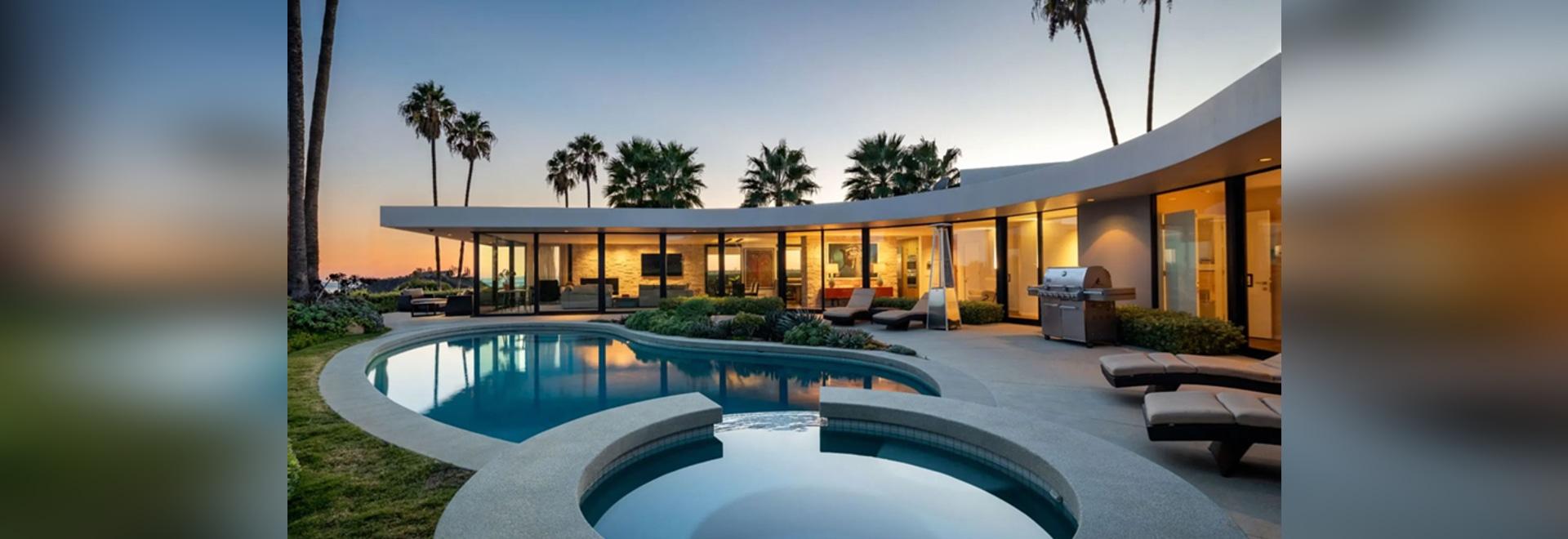 A Peek Inside Elon Musk's Former LA Mansion
