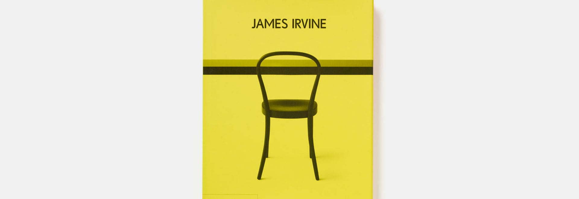 Phaidon press have published this new monograph paying tribute to the late James Irvine, who captivated the world of design with both immense talent and vivid personality. The cover shows 'Chair No...