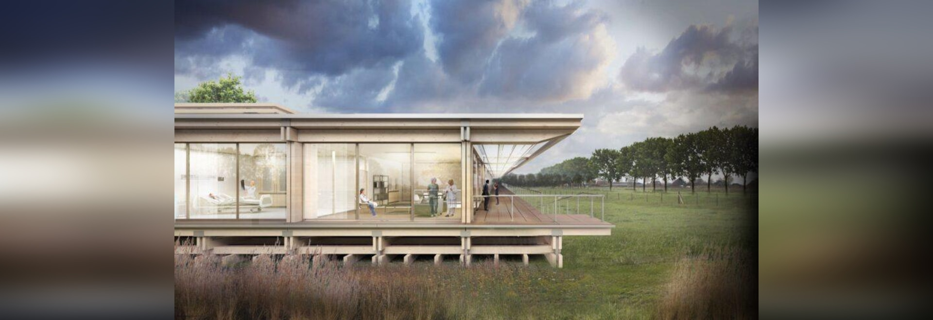 Pop-up prefab hospitals proposed as healthcare centers during pandemics
