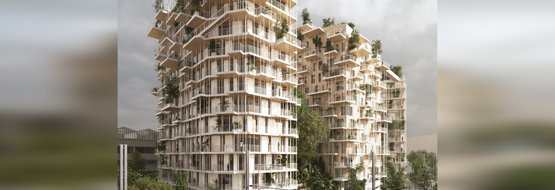 the proposed tower climbs to a total height of 50 meters