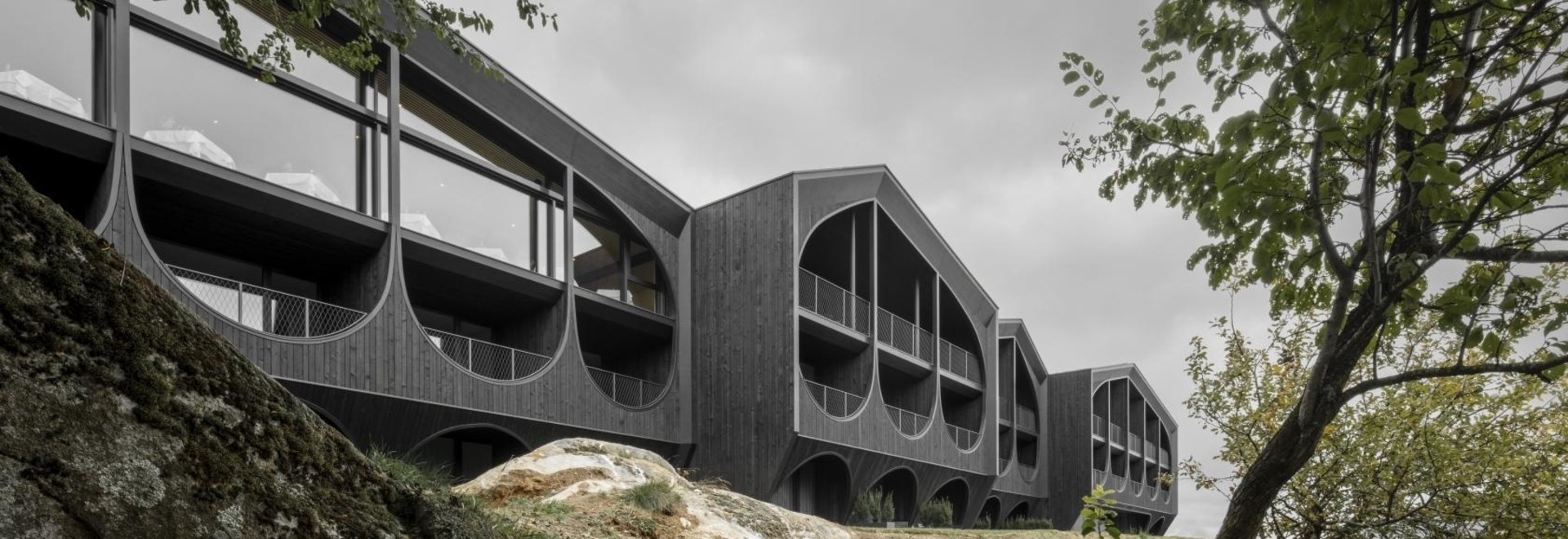 Radical South Tyrol hotel redefines Alpine architecture