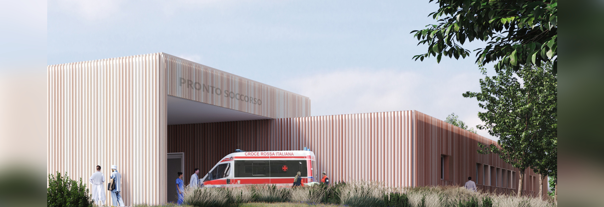 Rendering of Emergency Hospital 19.