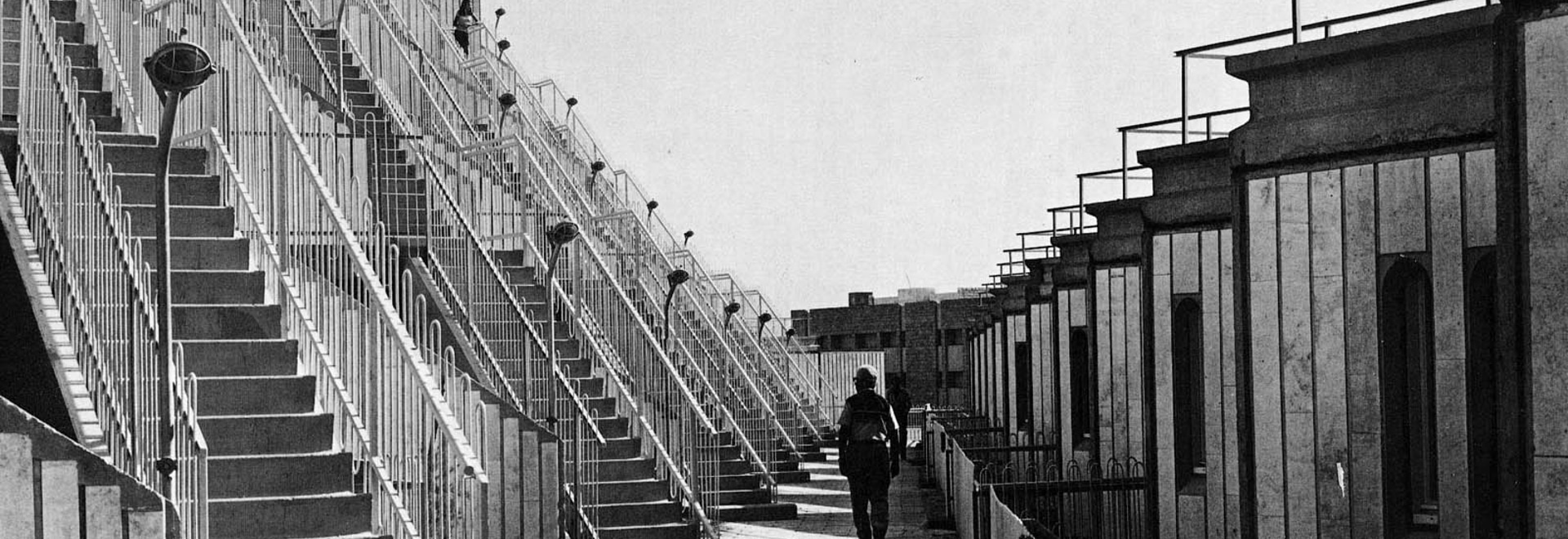 Resisting Israeli Postmodernism: Gilo Housing in Jerusalem by Eldar and Arieh Sharon. (Image courtesy Arieh Sharon office)
