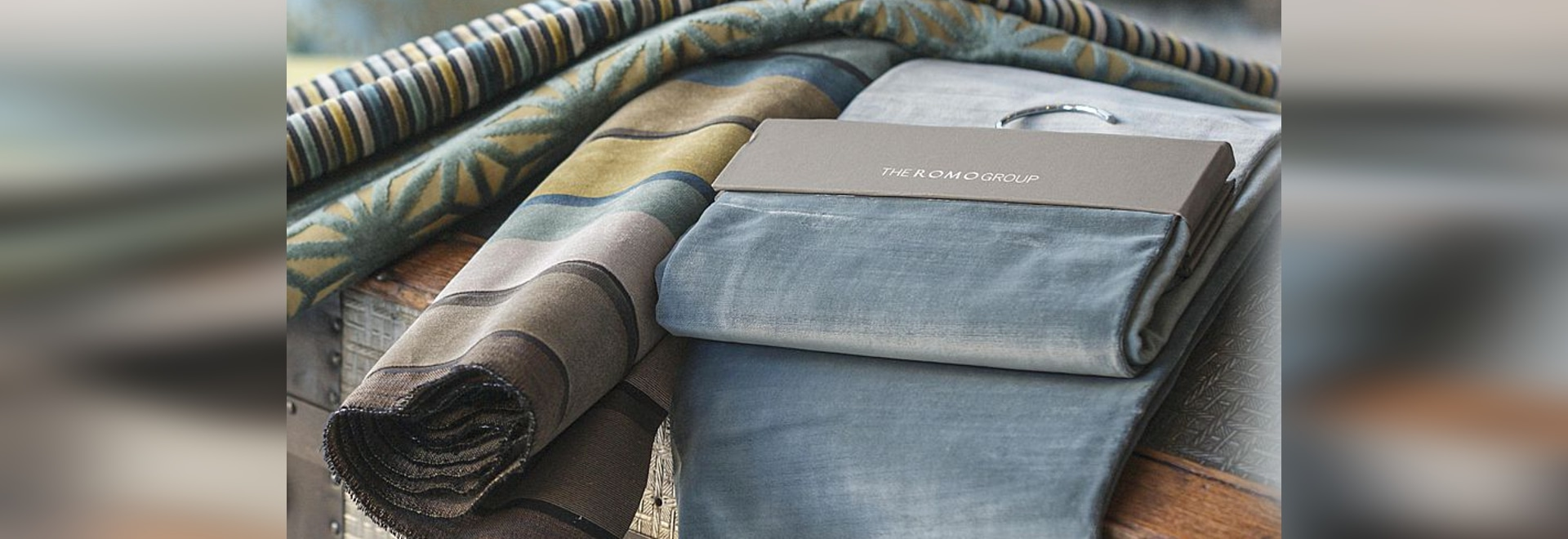 Romo in the new BertO textile collection