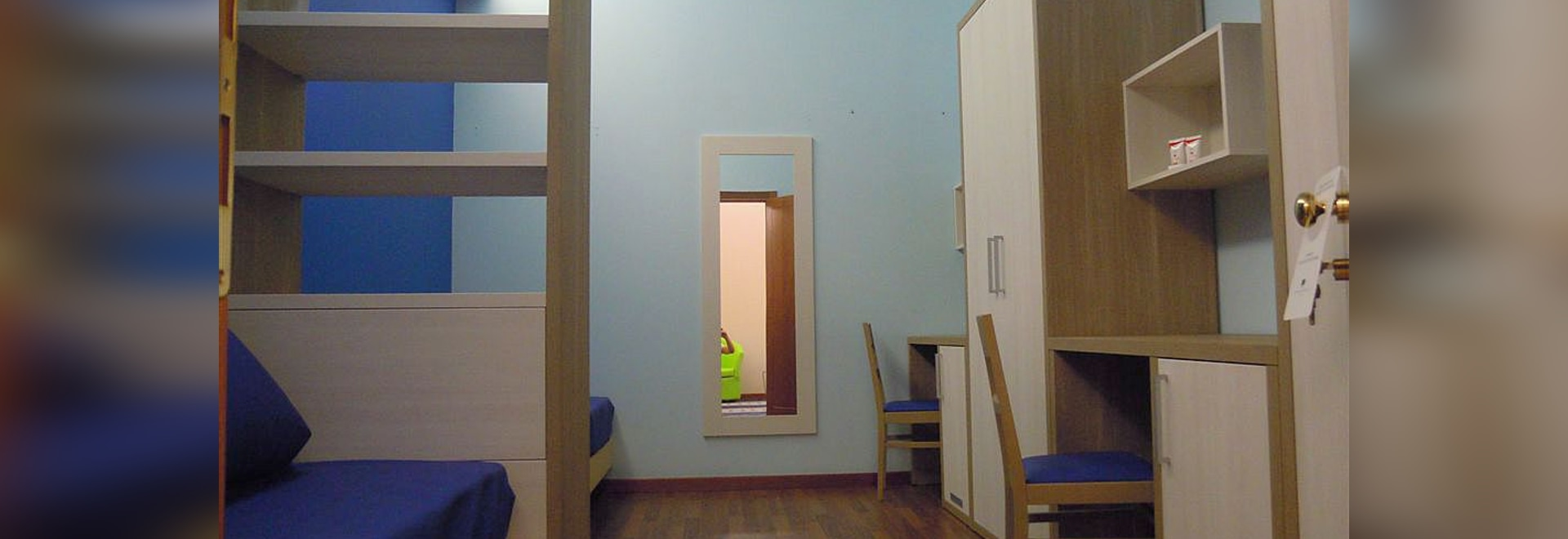 ROOMS FOR STUDENTS AND YOUNG PEOPLE INSIDE
