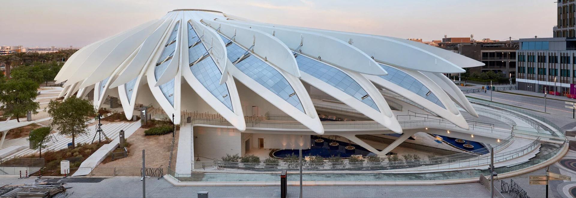 Santiago Calatrava unveils UAE and Qatar pavilions at Expo 2020 Dubai