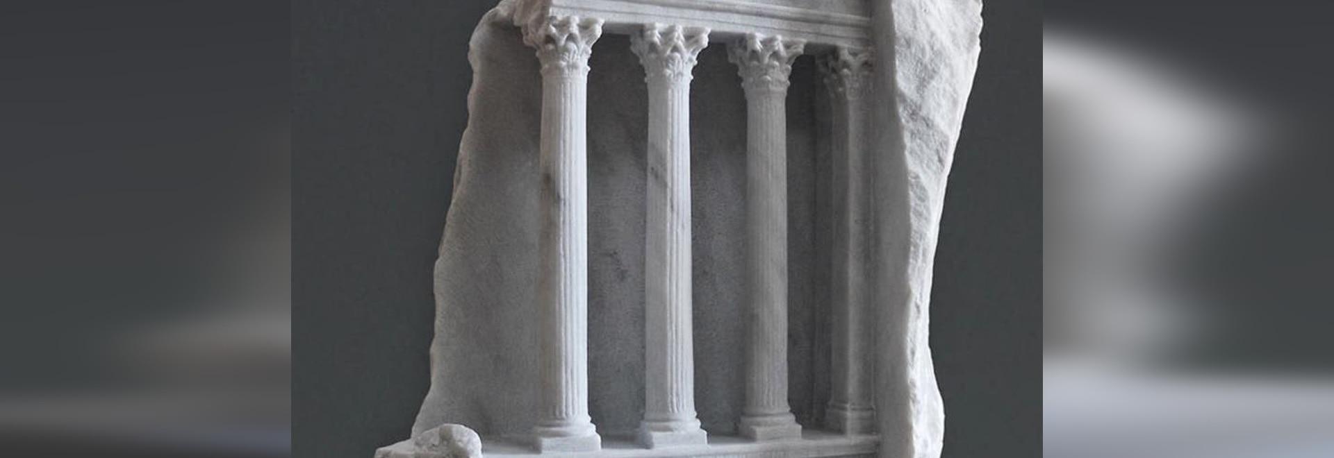 Sculptor Matthew Simmonds Carves Realistic Interiors Into