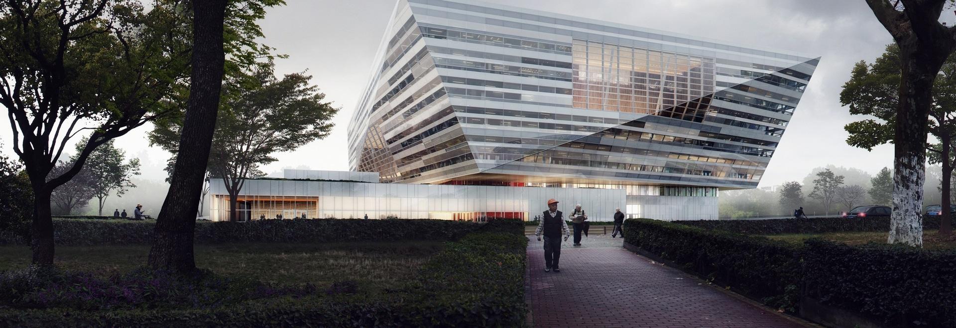 Shanghai East Library