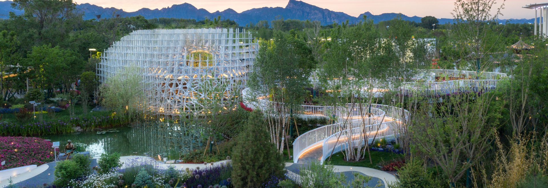 Shanghai Garden, the Beijing Horticultural Exhibition 2019 / Arcplus Architectural Decoration & Landscape Design Research Institute