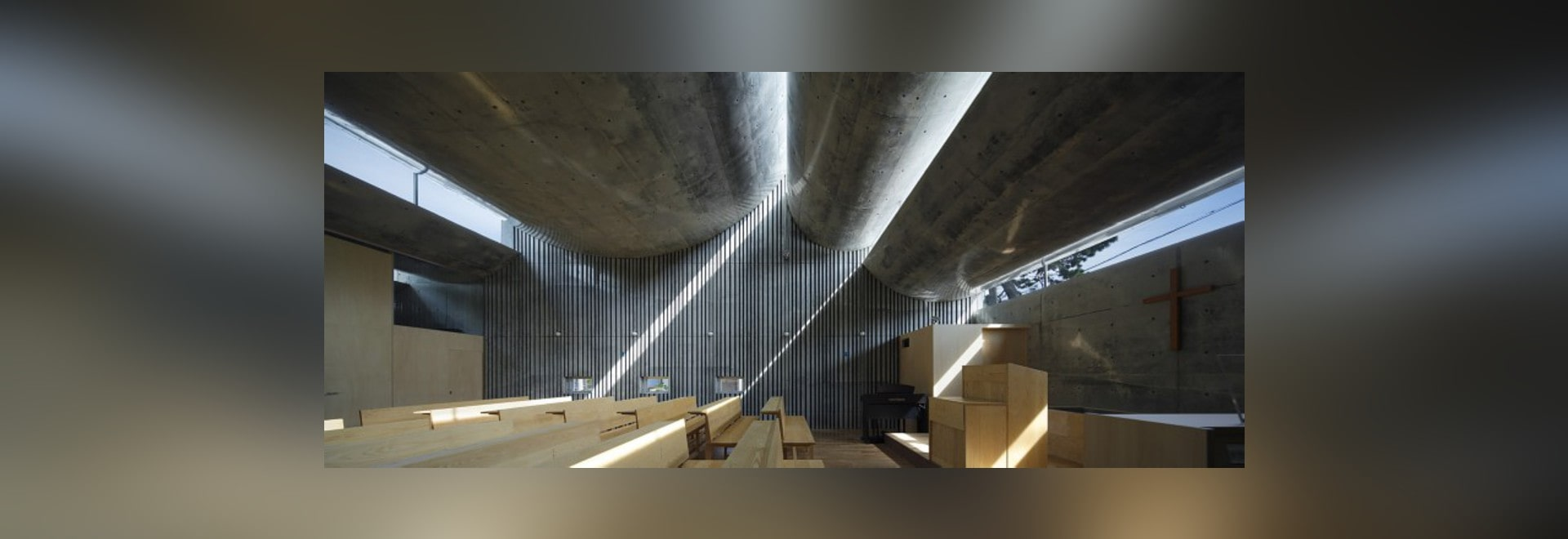 SHONAN CHRIST CHURCH BY TAKESHI HOSAKA