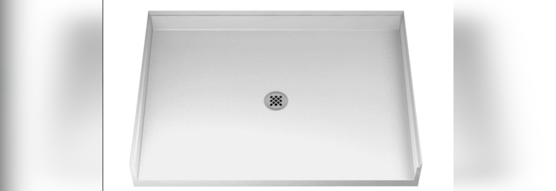 Roll In Shower Pan.Shower Pan Series 100 48 X34 Rectangular Roll In Alcove