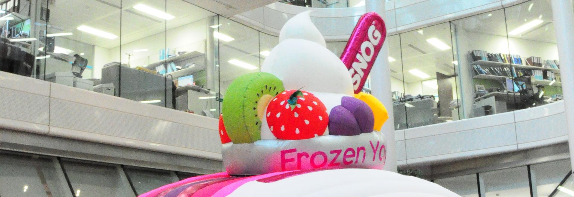 SNOG Frozen Yogurt Kiosk